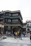 Asia, China, Beijing, Qianmen Street, commercial street, walk street Royalty Free Stock Photos