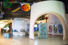 Asia China, Beijing, science and technology museum, indoor exhibition hall, Stock Images