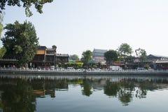 Asia, China, Beijing, Shichahai, landscape architecture Royalty Free Stock Image