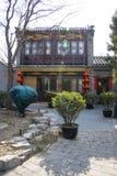 Asia China, Beijing, Shichahai Scenic ,attic Stock Photos
