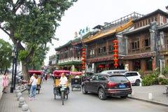 Asia China, Beijing, Shichahai Scenic, Shore landscape Royalty Free Stock Photography