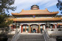 Asia China, Beijing, the Summer Palace,Garden buildings, pavilions Stock Images