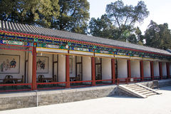 Asia China, Beijing, the Summer Palace, the long corridor Royalty Free Stock Photography