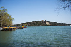 Asia China, Beijing, the Summer Palace, royal garden, spring scenery,Lake View Stock Image