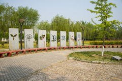 Asia China, Beijing, Sun Palace Park, landscape architecture, Stock Photo