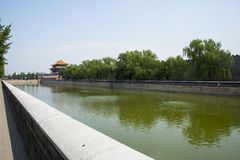 Free Asia China, Beijing, The Imperial Palace, North Gate Royalty Free Stock Photography - 57154877