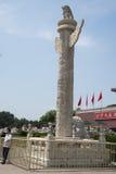 Asia, China, Beijing, Tiananmen, huabiao Stock Images
