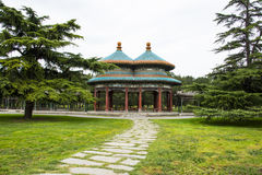 Asia China, Beijing, Tiantan Park,Double Pavilion Royalty Free Stock Photography