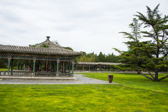 Asia China, Beijing, Tiantan Park,Pavilion, Gallery Royalty Free Stock Photos