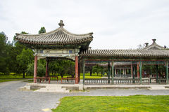 Asia China, Beijing, Tiantan Park,Pavilion, Gallery Royalty Free Stock Images