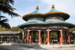 Asia China, Beijing, Tiantan Park, double Pavilion Royalty Free Stock Image