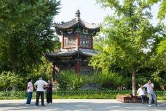 Asia China, Beijing, Xuanwu Yiyuan, summer landscape, Stock Photos