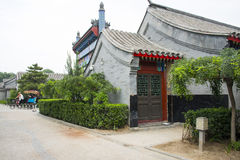 Asia China, Beijing, Yu River Heritage Park, antique building, Royalty Free Stock Images
