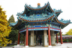 Asia China, Beijing, Zhongshan Park, antique building, pavilion Gallery Royalty Free Stock Image