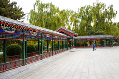 Asia China, Beijing, Zhongshan Park, antique building, pavilion Gallery Royalty Free Stock Images
