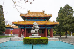 Asia China, Beijing, Zhongshan Park, antique buildings,Palace, Pavilion,landscape stone Royalty Free Stock Images