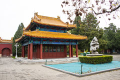 Asia China, Beijing, Zhongshan Park, antique buildings,Palace, Pavilion Royalty Free Stock Photography