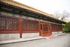 Asia China, Beijing, Zhongshan Park, Classical architecture, temple Stock Image