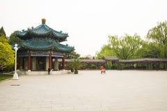 Asia China, Beijing, Zhongshan Park,Lanting Pavilion, eight column Pavilion Stock Images