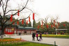 Asia China, Beijing, Zhongshan Park, Tang Huawu Royalty Free Stock Photo