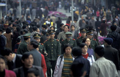 ASIA CHINA CHONGQING Royalty Free Stock Images