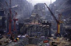 ASIA CHINA EL RÍO YANGZI Foto de archivo libre de regalías