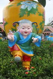 ASIA,CHINA,THE Folk dolls in Shenzhen folk square Royalty Free Stock Images