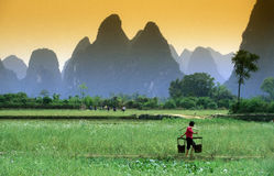 ASIA CHINA GUILIN Royalty Free Stock Image
