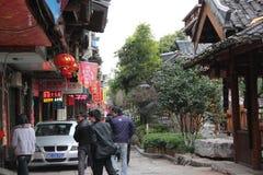 Asia china GUILIN Ancient street Royalty Free Stock Photo