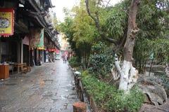 Asia china GUILIN Ancient streets Stock Photo