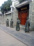 Asia,China,guilin , Statue of the ancient county in the park Stock Photography