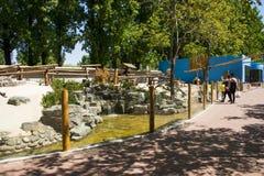 Asia China, Pekín, Daxing, parque animal salvaje, ¼ Œ de Landscapeï del parque Foto de archivo libre de regalías