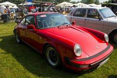 Asia China, Pekín, demostración de coche clásica, Porsche 930 coches Foto de archivo libre de regalías