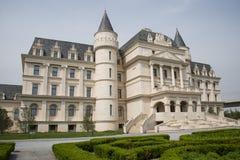 Asia China, Pekín, expo del jardín, castillo de ŒEuropean del ¼ del architectureï del jardín Imágenes de archivo libres de regalías