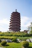 Asia China, Pekín, expo del jardín, torre de Yongding, Imagenes de archivo