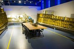 Asia China, Pekín, museo de la universidad de Beihang, sala de exposiciones interior Imagen de archivo libre de regalías