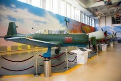 Asia China, Pekín, museo de la universidad de Beihang, sala de exposiciones interior Fotografía de archivo
