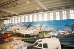 Asia China, Pekín, museo de la universidad de Beihang, sala de exposiciones interior Fotos de archivo