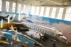Asia China, Pekín, museo de la universidad de Beihang, sala de exposiciones interior Imagenes de archivo