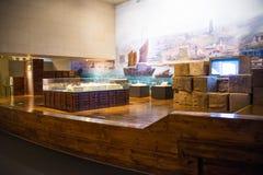 Asia China, Pekín, museo de las aduanas, sala de exposiciones interior Fotografía de archivo