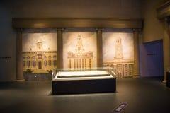 Asia China, Pekín, museo de las aduanas, sala de exposiciones interior Foto de archivo