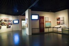 Asia China, Pekín, museo del fuego, sala de exposiciones interior Fotos de archivo