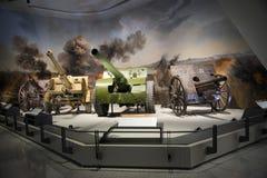 Asia China, Pekín, museo militar, sala de exposiciones interior Imagen de archivo