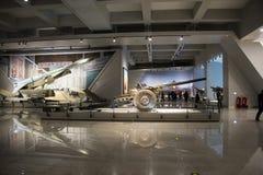 Asia China, Pekín, museo militar, sala de exposiciones interior Imagenes de archivo