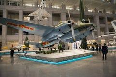Asia China, Pekín, museo militar, sala de exposiciones interior, Foto de archivo