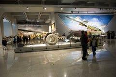 Asia China, Pekín, museo militar, sala de exposiciones interior, Imagen de archivo