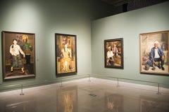 Asia China, Pekín, Museo Nacional, sala de exposiciones interior Imágenes de archivo libres de regalías
