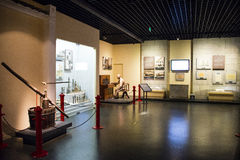 Asia China, Pekín, sala de exposiciones interior Imágenes de archivo libres de regalías