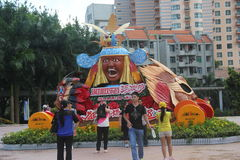 ASIA,CHINA,Shenzhen Happy Valley Carnival Stock Image