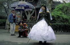 ASIA CHINA SICHUAN CHENGDU Royalty Free Stock Photo